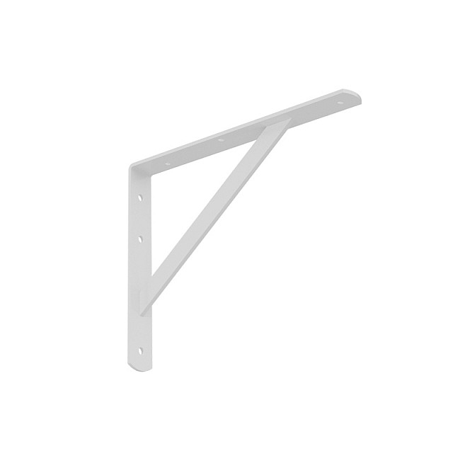 HEAVY DUTY SHELF BRACKET 300x225mm/260kg  WHITE